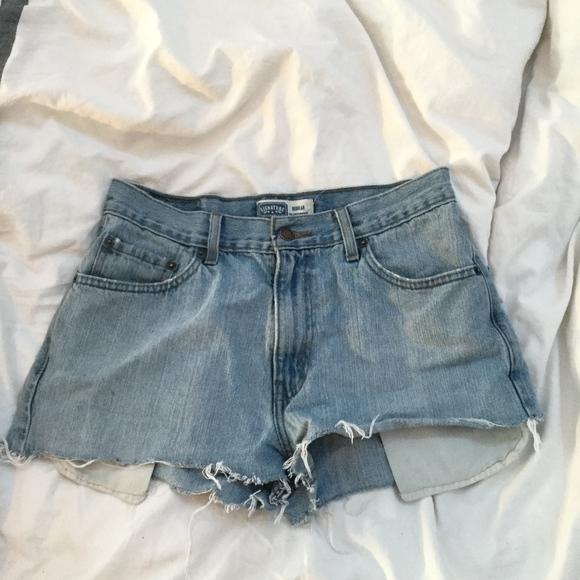 Levi's Pants - Signature Levi Jean Shorts